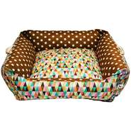 Cama Futon Dog Quadrada Diamond