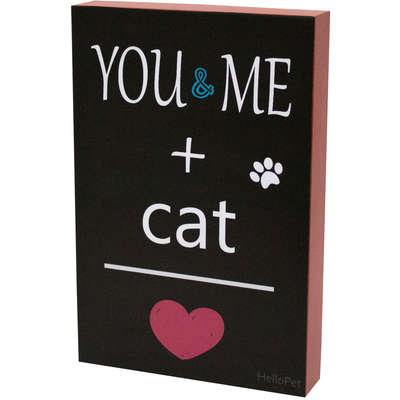 Quadro Hellopet You And Me Cat