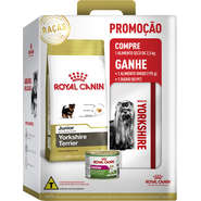 Combo Ração Royal Canin Yorkshire Terrie Junior - 2,5 Kg